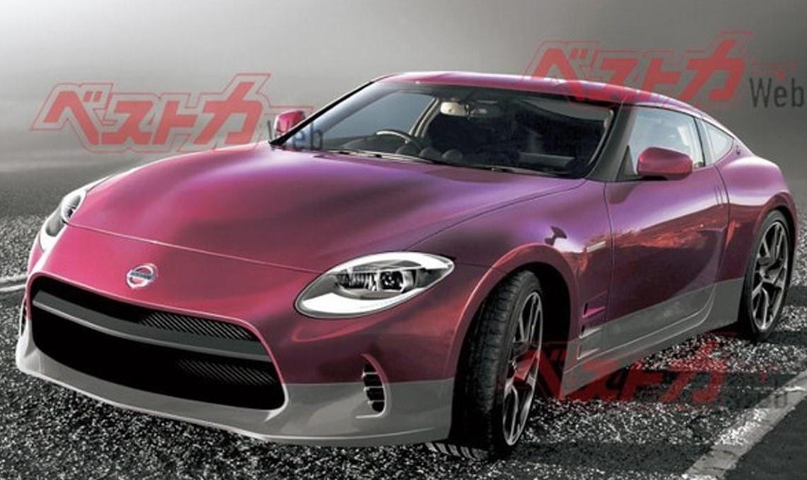 或命名为400Z/搭3.0T发动机日产Z系列跑车渲染图曝光