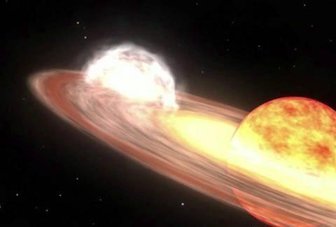 国际天文学家团队:射电望远镜阵列揭示出一颗热死星表面的爆炸