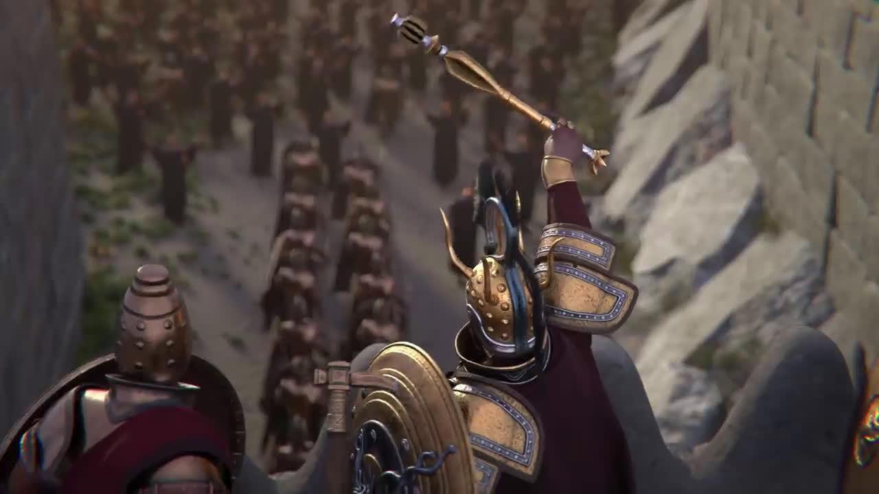 """《全面战争传奇: 特洛伊》公布最新宣传影像 """"阿伽门农"""""""