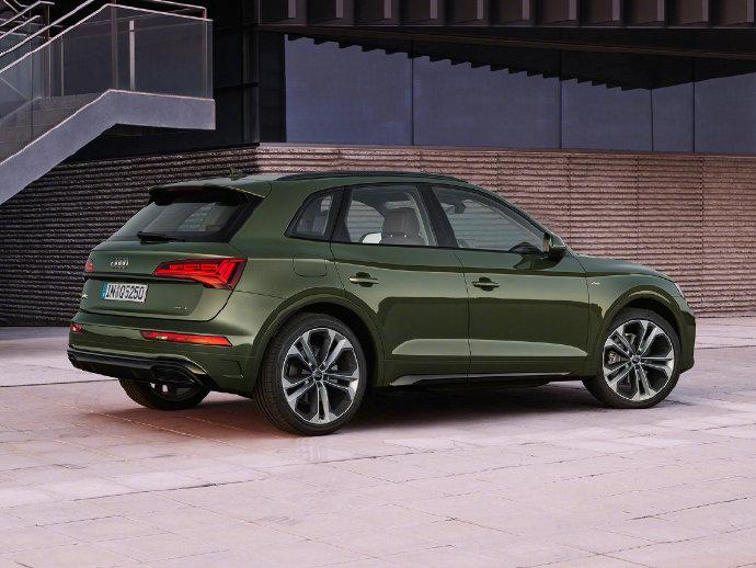 它变绿了也变强了,新款奥迪Q5闪耀登场,新增混合动力系统
