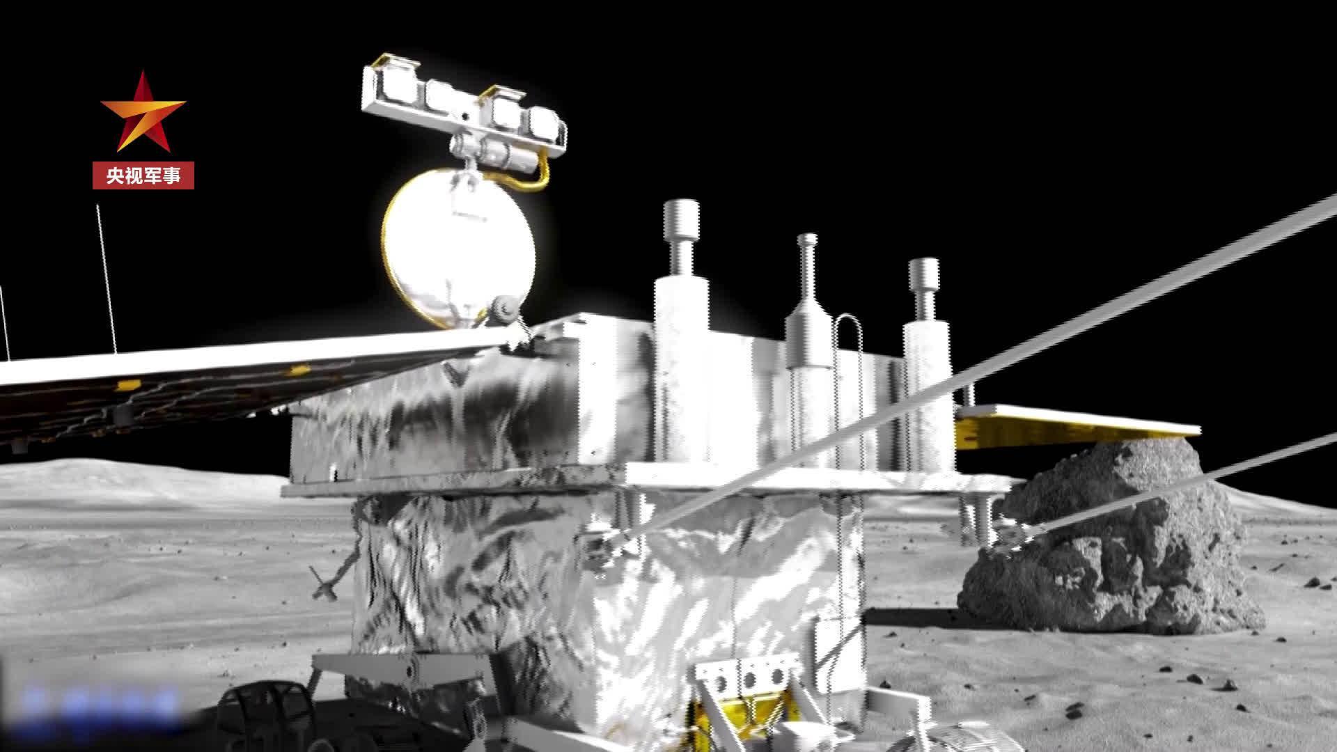玉兔二号获大量探测数据进入月夜休眠