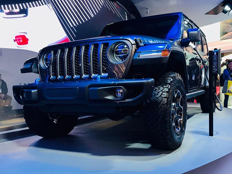 Jeep牧马人插电混动车型或将于年内上市
