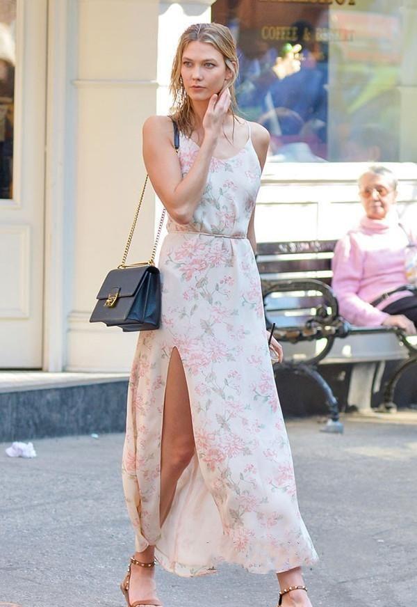"""内衣外穿不新鲜了!今年流行穿""""内衣裙"""",时髦又显瘦,贼上头"""