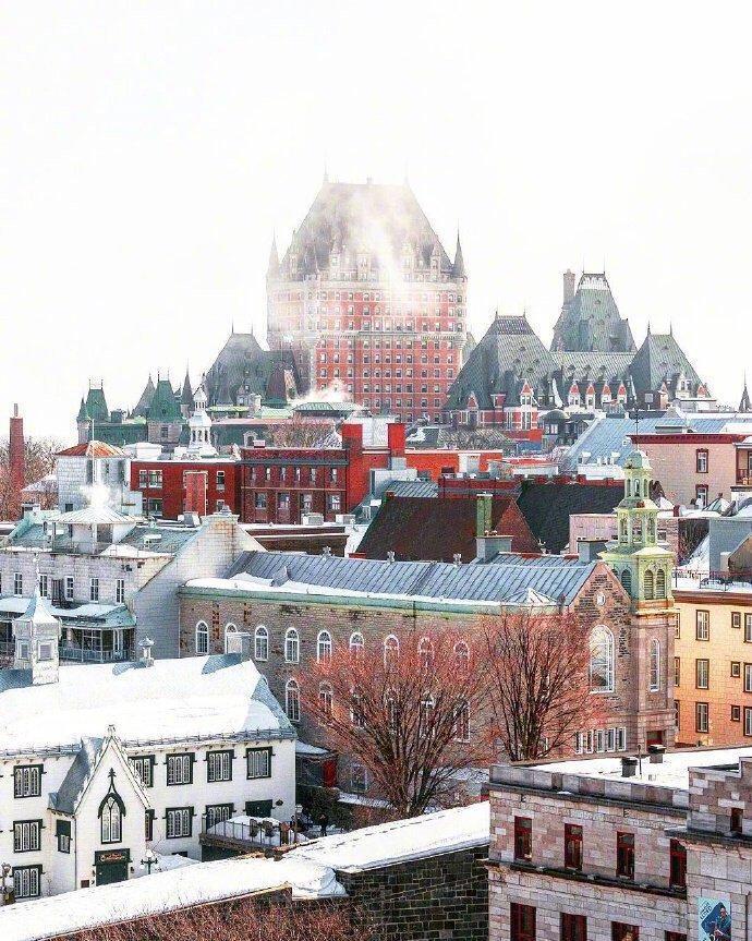 魁北克 美得像童话世界