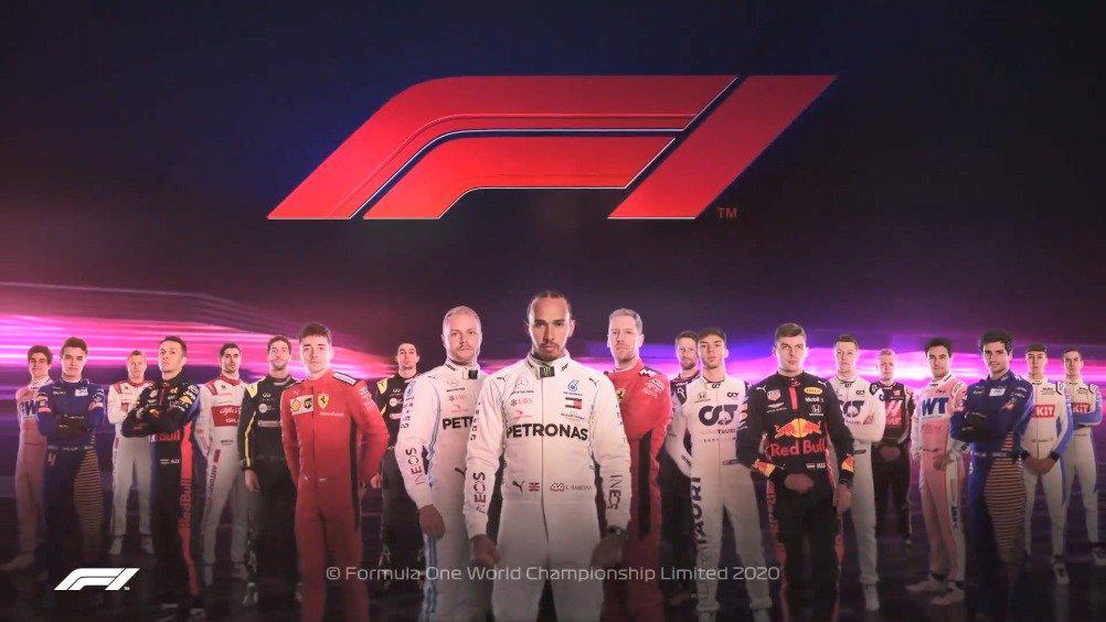 感受一下2020赛季官方F1高燃片头……