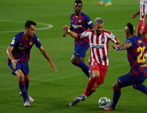 没想到吧!阻挡巴萨夺冠的,依然是中超球员,5场2-2让梅西绝望