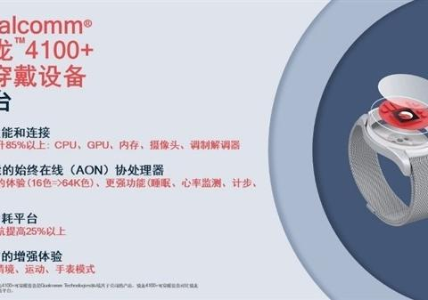 高通发骁龙4100系列处理器:性能提升85% 功耗降低25%