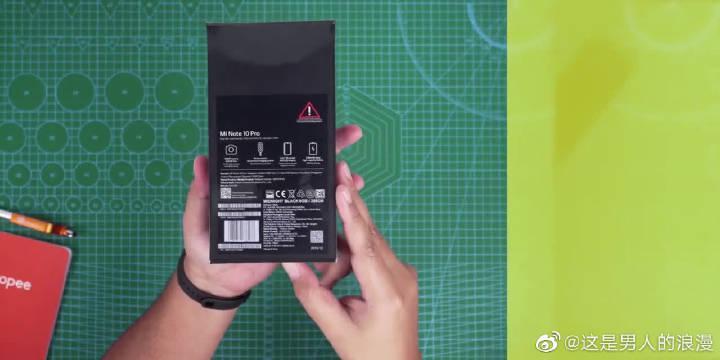 小米 Note 10 Pro开箱,一亿像素拍照才是重点!