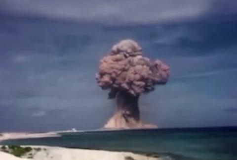 武器物理学家通过用电脑测试蘑菇云大小预测核武器的威力