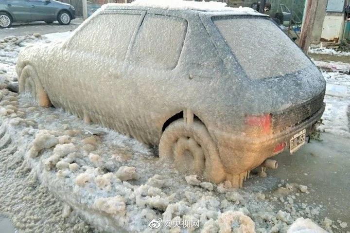 遭遇寒流 阿根廷火地岛最低气温降至-14.9℃