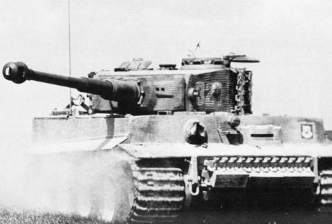 设计和机动性最好的二战重型坦克:德国虎式
