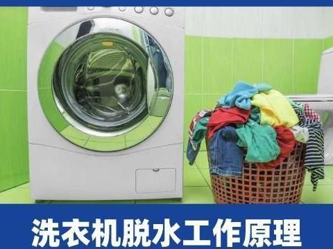 啄木鸟家庭维修|家用洗衣机脱水的工作原理介绍