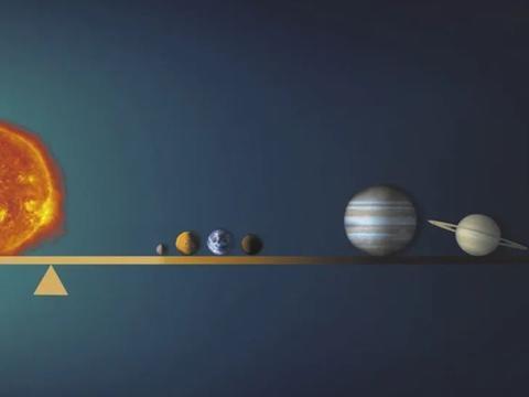 太阳系的重心在哪里?利用黑洞引力波,或将能够精确到100米!