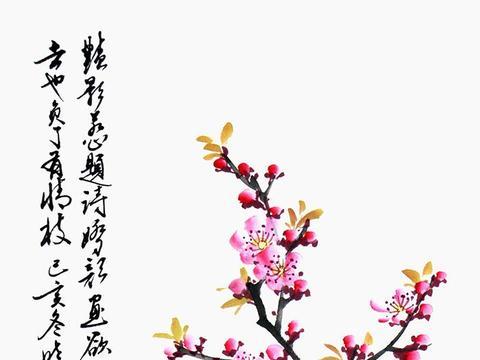 当代艺术欣赏 诗人画家郑晓京写意花鸟画新作