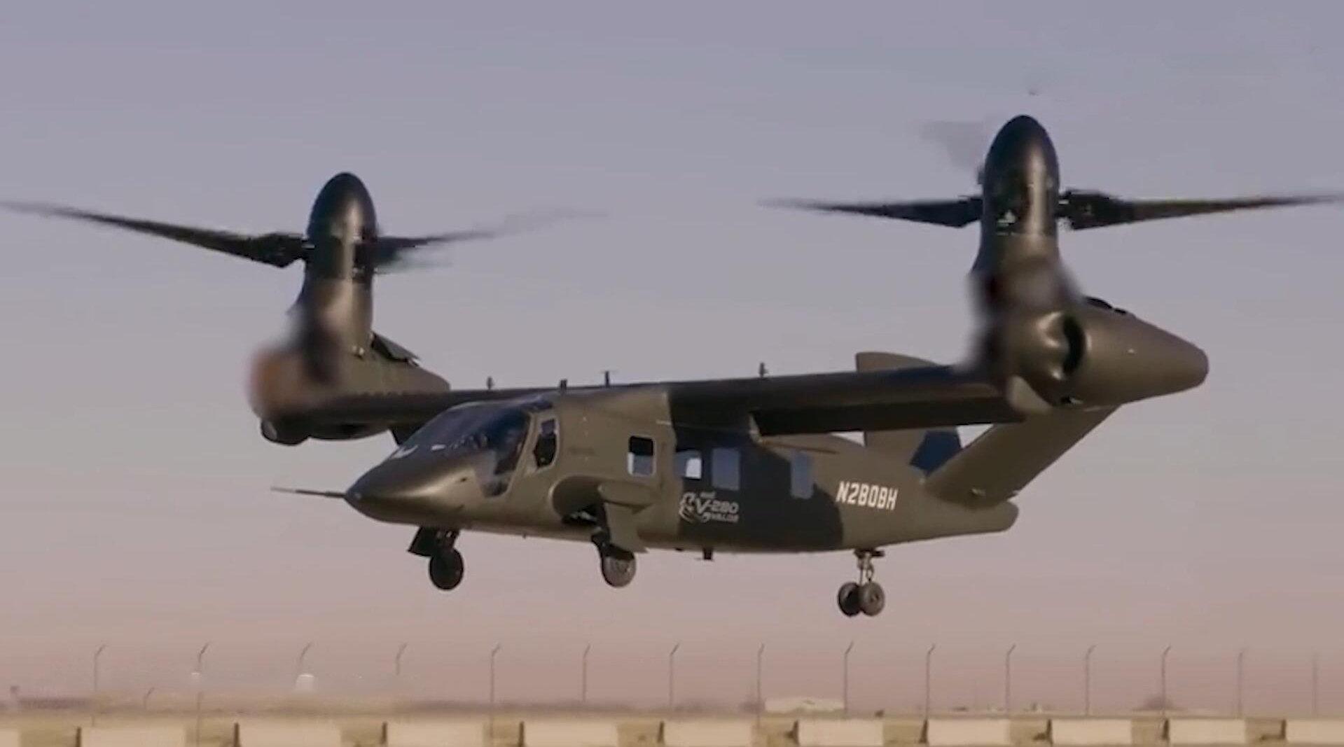 贝尔联合洛马研制三代倾转旋翼机……