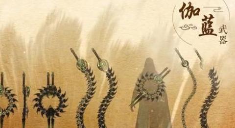 折骨为兵!一梦江湖中最硬核武器,伽蓝出世指日可待!