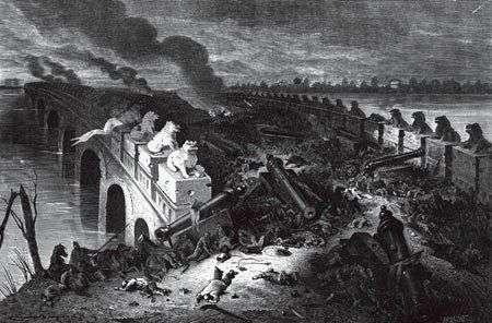 英法联军为什么要火烧圆明园?直接目的、最终目的是什么