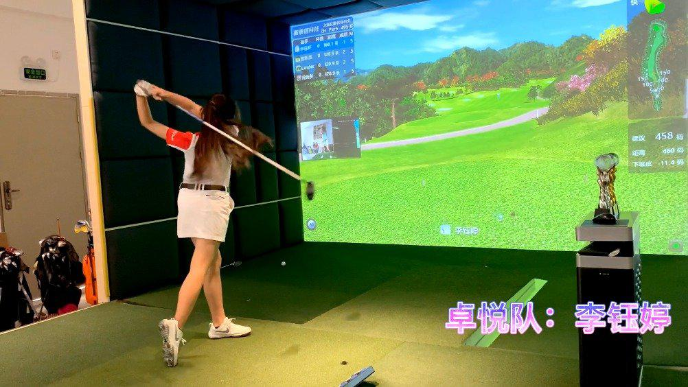 不负青春,挥杆未来!517青少年室内高尔夫挑战赛视频回顾!