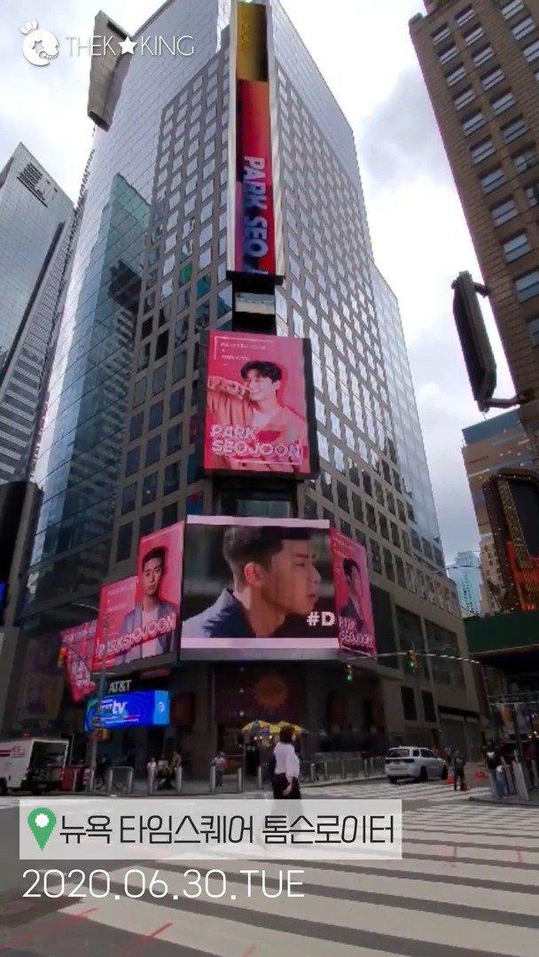TheKing 4月打榜第1名 纽约时代广场应援影片释出