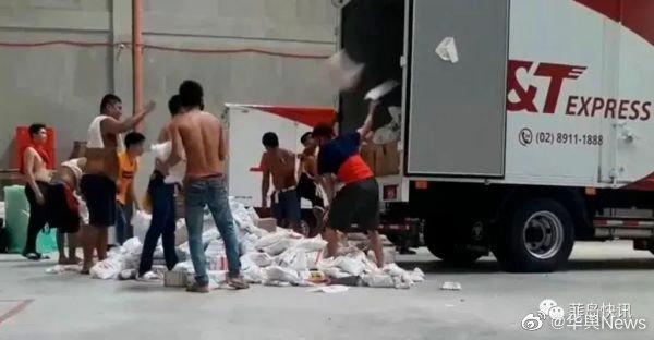 快递小哥暴力装卸,菲律宾总统亲自炮轰威胁让这家电商停业……