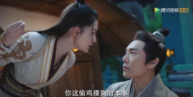 """《锦绣南歌》8集出现7处""""迷之行为"""",王府全是布,逃跑进藏书阁"""