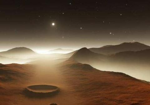 """火星上的""""鼹鼠""""为什么不见了?德国科学家:它已从火星地面消失"""
