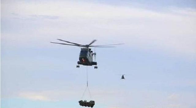 075或搭载直升机营,包含20吨新直8L宽体,可运载山猫和火炮