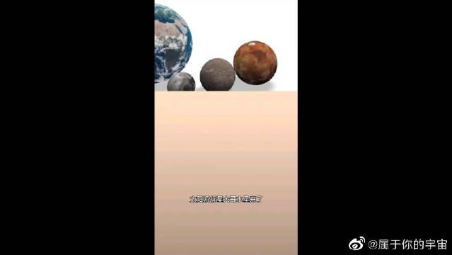 宇宙星体大比拼,你知道最大的行星是什么吗?赶紧猜猜看
