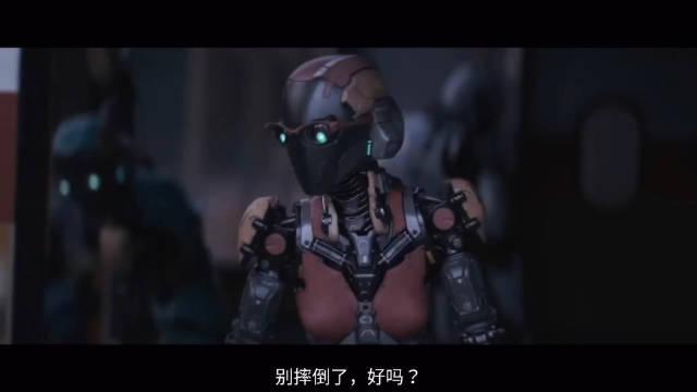 CG科幻动作:当机器人建筑工,偶然发现黑心老板的秘密……