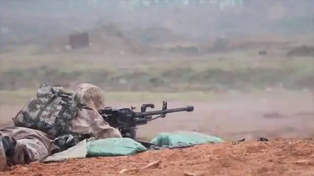 11式狙击榴弹发射器、89式重机枪、10式狙击步枪实弹射击!