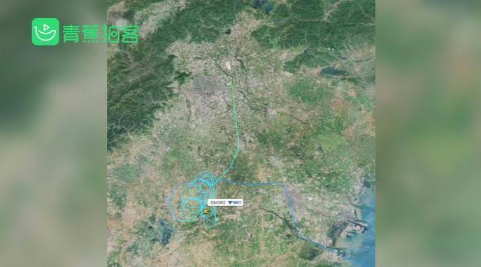 蒙古航空一航班疑单发失效挂7700代码
