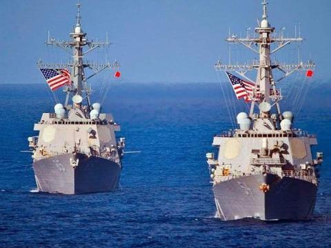 美航母强闯演习禁区,岛礁竖起数百枚导弹,俄:这是一次危险信号
