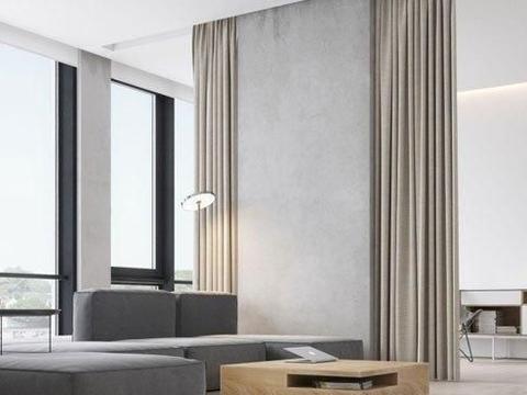 极简现代风格装修设计,造型简洁、配色干净,屋主真是有品位!