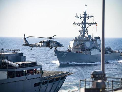 大批远程火箭炮现身岛礁,一轮齐射击沉油轮,警告美军不准过界