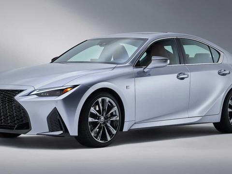 只有羡慕的份了!丰田在美国和加拿大申请雷克萨斯IS500商标