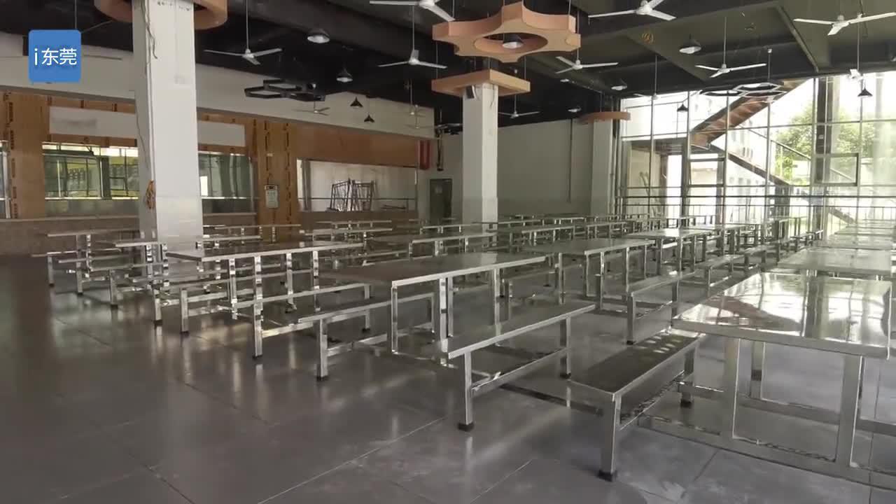 东莞市北辰高中举办校园开放日活动,今年9月将迎800名新生