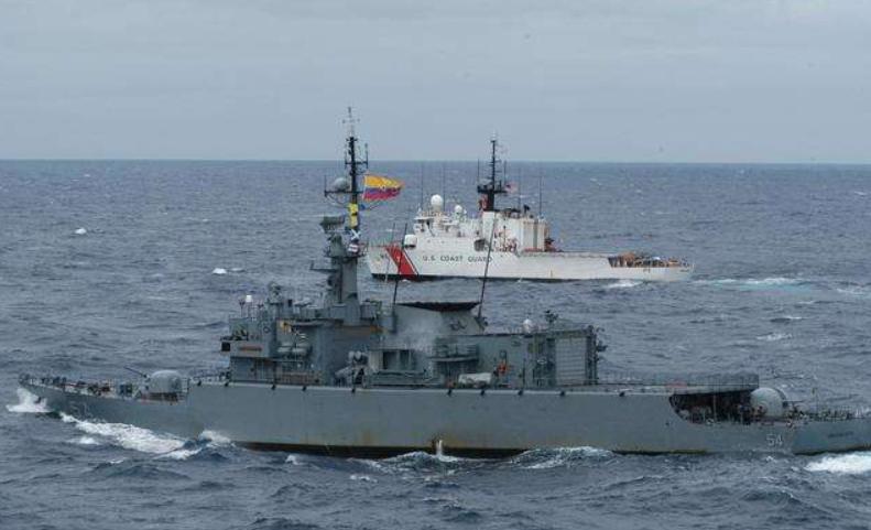 哥伦比亚海军没收7.5吨可卡因,打破2020年纪录