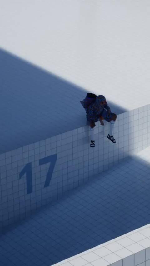 Burberry 这个广告拍得像是以 Kendall Jenner为主角的新版 GTA