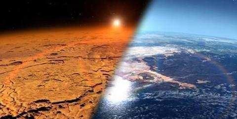 火星曾有一条大河,奔腾不息10万年,至今还有沉积岩地貌