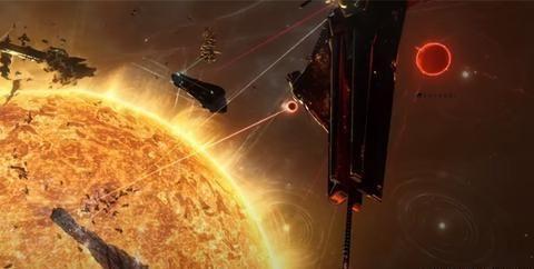 为了实现他的生日愿望,上千玩家在《EVE》中打了一场星球大战
