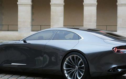 比特斯拉还要流畅,马自达Vision Coupe你会考虑吗?