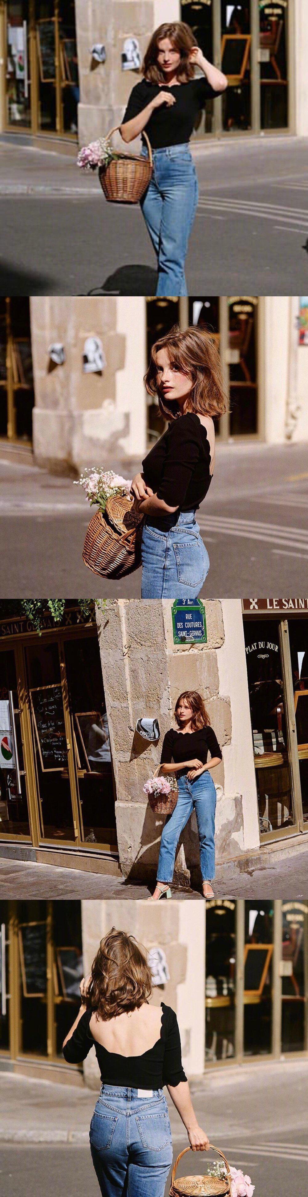 法国博主 Camille , 优雅甜美的法风穿搭指南