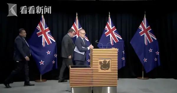 疫情期间带头违反禁足令 新西兰卫生部长辞职