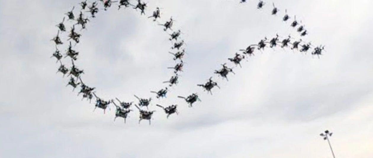 英特尔开发四旋翼无人机,能翻筋斗、滚筒飞