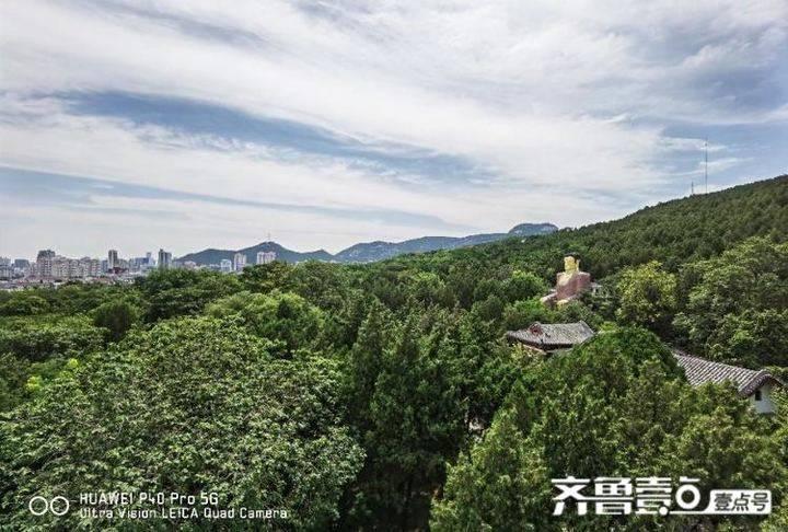"""千佛山被喻为""""历山飞虹"""" 的索道你坐过么?"""