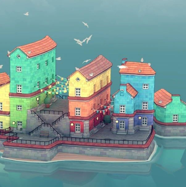 在这款沙盒游戏里,你只需要乱点鼠标就能成为建筑艺术家