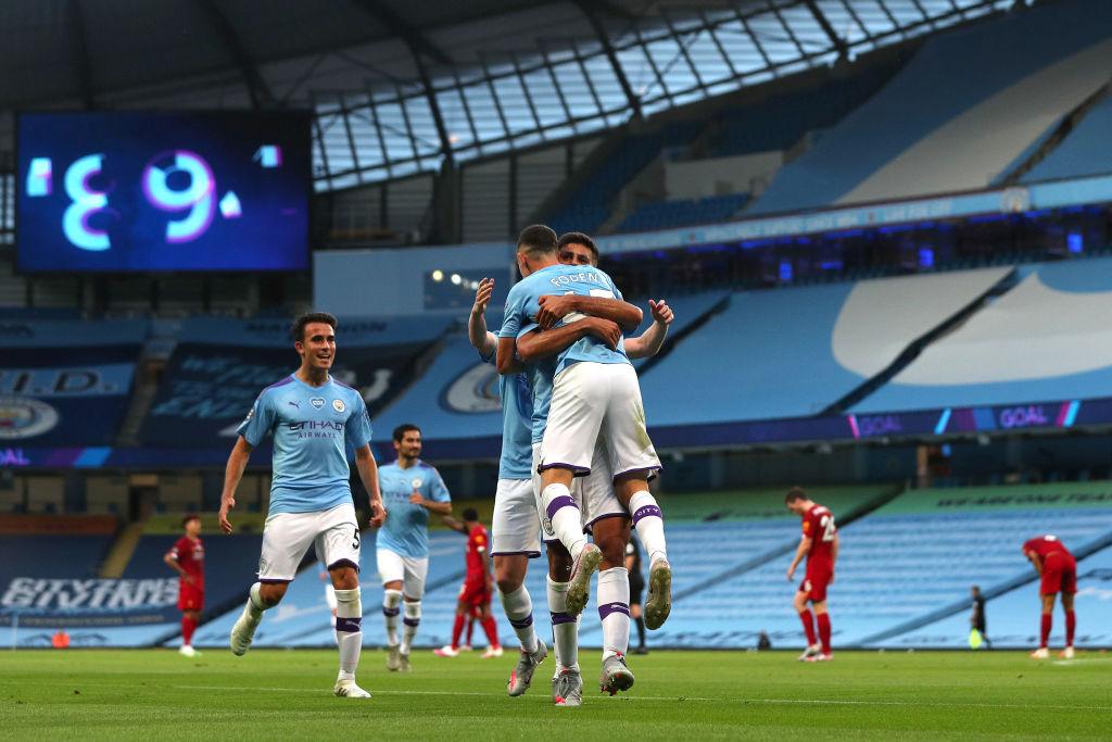 斯特林独造3球!曼城4-0大胜利物浦 新科英超冠军惨遭羞辱