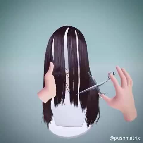 国外一网友为了给老婆剪头发,建了个VR模拟器练练手...对不起……