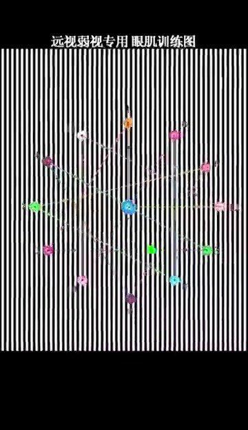 远视性弱视专用,一次5分钟,一天2次,跟着蓝点运动……