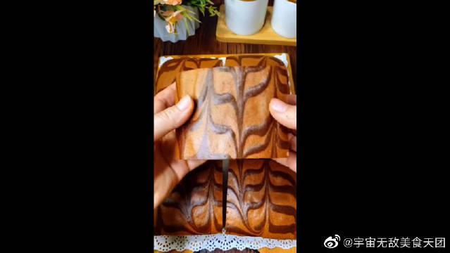 网红古早蛋糕做法:自己在家就能做……